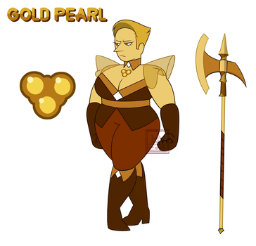 Gold Pearl by FunkyFunKing