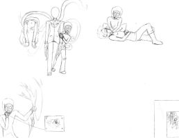 Marble Hornets Doodles by 15MadyCat