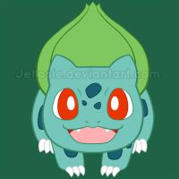 No. 001 - Bulbasaur by Happbee