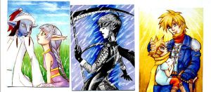 Golden Sun STA cards by Illien-chan