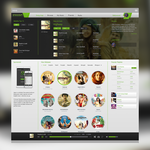 Saavn web Redesign by lordbunty