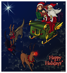 X-mas entry 10. by Spacekitty0 by Hogwarts-Castle