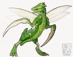 Scyther by sugarpoultry