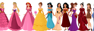 Disney Princesses- Revamped by supereilonwypevensie