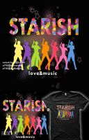 STARISH! Shirt Design 2 by a745