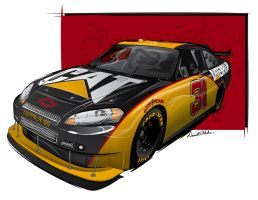 2009 CAT Sprint Cup car by graphicwolf