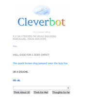 Why cleverbot acts crazy... by myworldmylifeandme