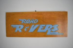 Road Rovers wood carving by ExileLink