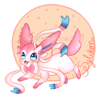 Ninfia/Sylveon by Flyingwithyou