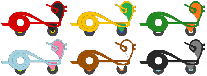 Clef Bike default palettes by Just-Call-Me-J
