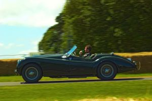 Goodwood 2012: Jaguar XK120 by randomlurker