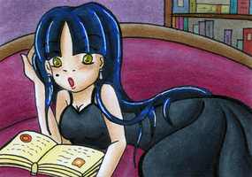 #75 Even a Goddess has to study by CruxisLyrica