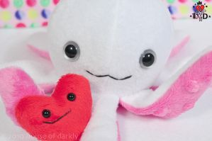 Oliver the Love Octopus by brokensymphony