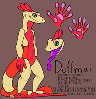 Duffmai Reference Sheet by FerianMoon