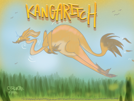 Kangaritch by qwertypictures