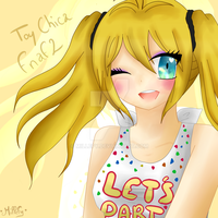 Toy Chica cute version - 2015 by Millefy