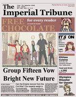 Newspaper FROM THE FUTURE by Crusader1089