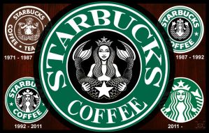 Starbucks Logo Redesign by JamesParce