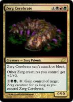 Zerg Cerebrate by starcraftmtg