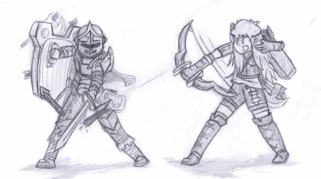 Fight still by BombCrop