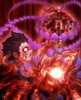 Ganta vs Wretched Egg by Kay-Jay97