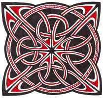 Knotwork 07 by clearwater-art