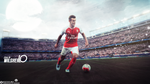 Jack Wilshere Wallpaper by mostafarock