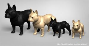 French-Bulldog-all by leo3dmodels