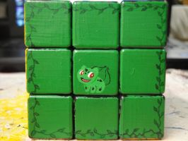 Bulbasaur Cube by SirRJ