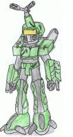 Metabee in spartan armour by Jonathanxbrass2