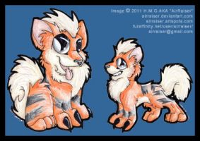 Growlithe 2011 by AirRaiser
