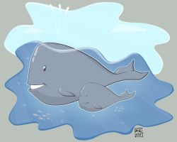 .: Whales :. by melimelo