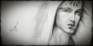 Eminem Sketch by mrkmhtet