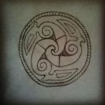 Lindesfarne Spiral Knotwork by Woad-Warrior