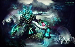 Thresh | League of Legends by Jynxed-Art
