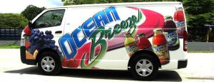 Ocean Breeze delivery van by Elforeal
