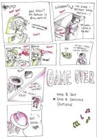 GAME 0VER by Zeliga