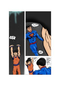 Superman Vs. Goku 16.3 by Rex-Mortis
