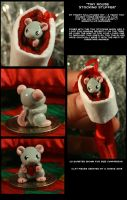 Tiny Mouse Stocking Stuffer by CatharsisJB