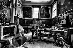 Instrument makers Shop by TanBekdemir