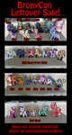 Bronycon leftovers by Sciggles