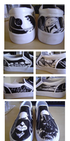 Star Wars -The Empire Shoes by shadowstrider05