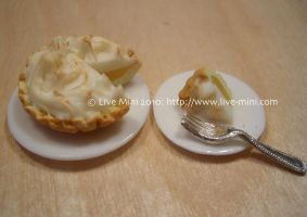 Lemon meringue pie by livemini