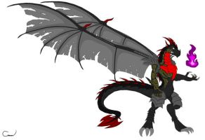 The Dark Dragon DH ITE Style by Vakama3