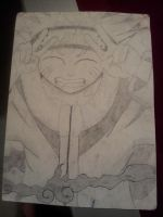 Naruto Peacin' Out by DCComicsFanboy