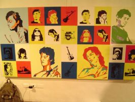 EHEADS presented in popart by tonemaster