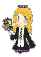 Pottermore ID for vicuus by ayochan