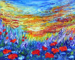 MEADOW SUMMER by ARTBYTERESA