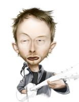 Thom Yorke by IvoryDrive