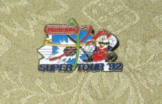 Mario Super Tour 92 pin by avaneshop